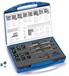 Комплект для ремонта резьбы отверстий для слива масла M 12 x 1,5, M 14 x 1,5, M 16 x 1,5Комплект для ремонта резьбы отверстий для слива масла M 12 x 1,5, M 14 x 1,5, M 16 x 1,5